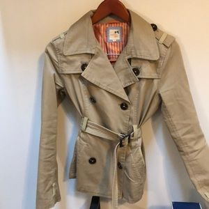 Tommy Girl Canvas Trench